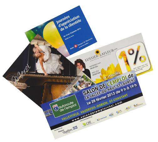 Carton publicitaire - carte postale