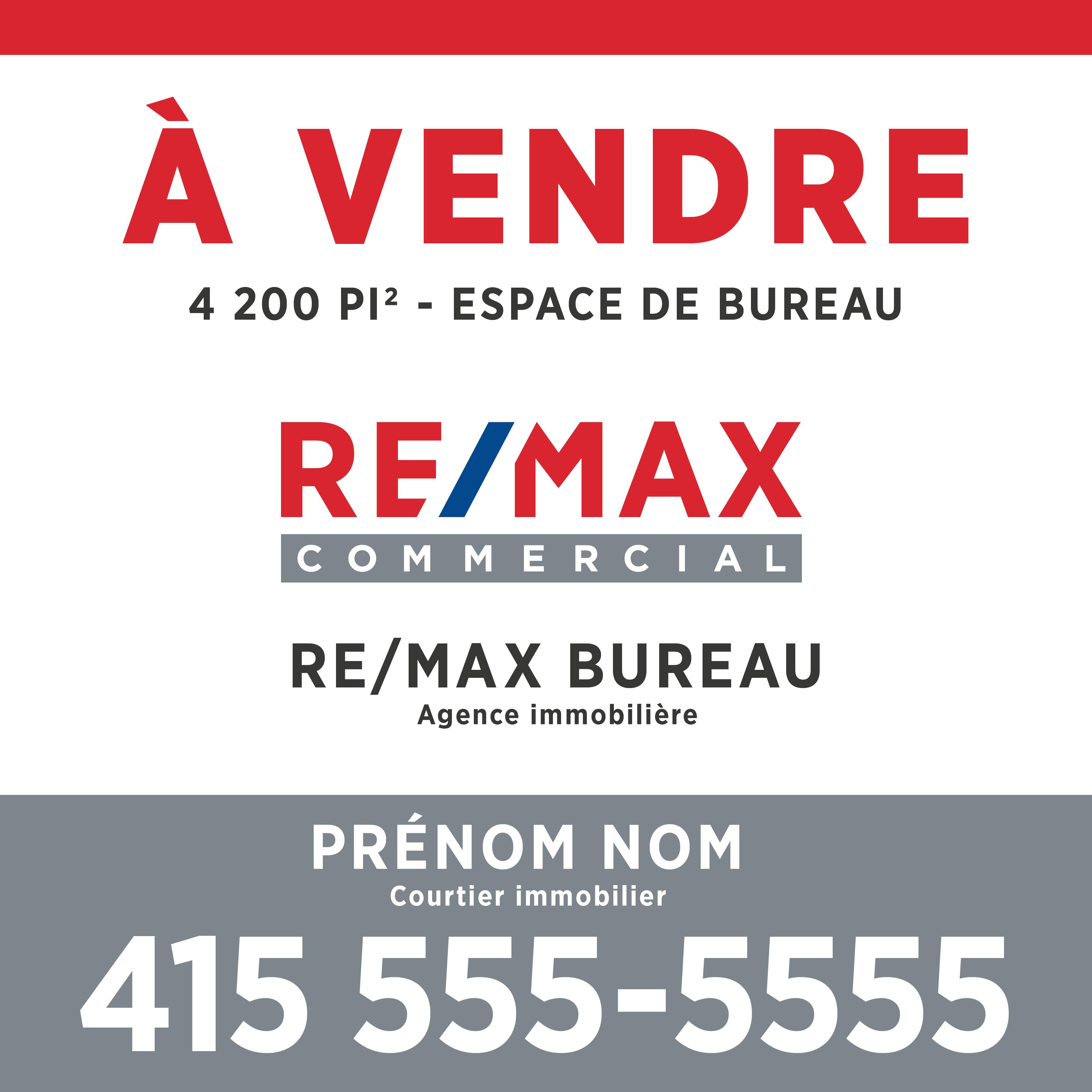 REM-1200B Enseignes commerciales - À vendre