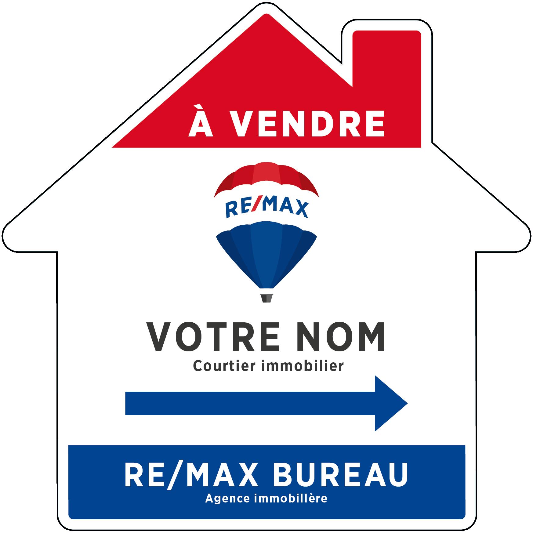 REM-1013 Enseignes directionnelles maison a vendre